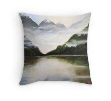 Kiwi Country Throw Pillow