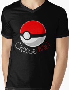 Pokemon - Choose Me? Mens V-Neck T-Shirt