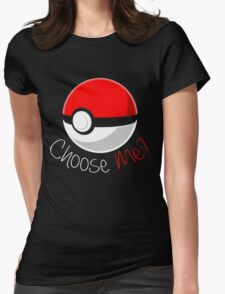 Pokemon - Choose Me? Womens Fitted T-Shirt