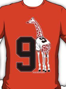 Belt Giraffe (Number Version) T-Shirt