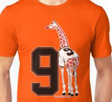 Belt Giraffe (Number Version) Unisex T-Shirt