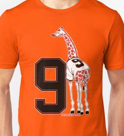 Belt Giraffe (Number Version) Unisex T-Shirt