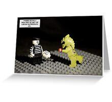 Mime life Greeting Card