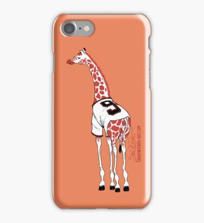 Belt Giraffe (Orange/iPhone 5) iPhone Case/Skin