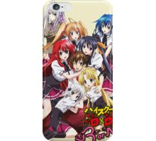 Highschool DxD Born Poster iPhone Case/Skin