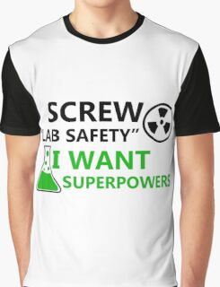 Screw Lab Safety Graphic T-Shirt