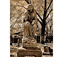 Mourning Mother Photographic Print