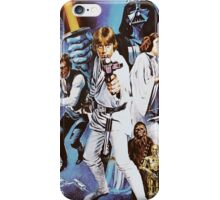 Star Wars Retro  iPhone Case/Skin