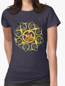 Diablo 3 Monk meditating Womens Fitted T-Shirt