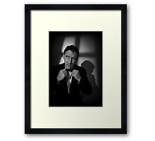 Are You In? Framed Print