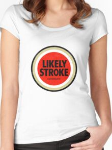 Likely Stroke Women's Fitted Scoop T-Shirt