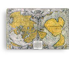 World Map 1531 Canvas Print