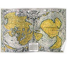 World Map 1531 Poster