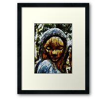 My Tears Fall From the Sky Framed Print