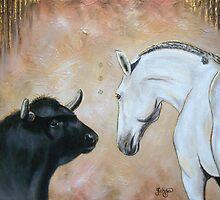 Friend and Foe by Tahnja
