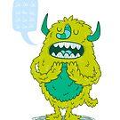 La la la Monster by ShakeyIllustra