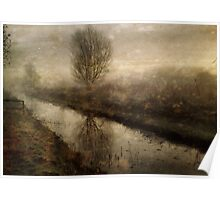 Winter on the Fen Poster