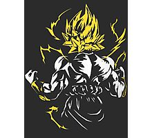 Songoku T-shirt Photographic Print
