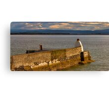 BUGHEAD HARBOUR, A BLINK OF SUNSHINE Canvas Print