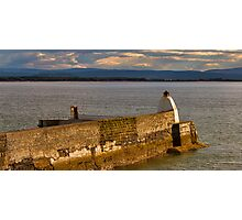 BUGHEAD HARBOUR, A BLINK OF SUNSHINE Photographic Print