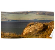BURGHEAD HIGH VIEW IN AUTUMN Poster