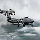 F-86 Sabre by J Biggadike