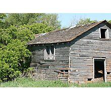 Abandoned Barn Falling to Ruin Photographic Print