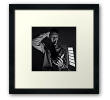 Of All the Bars, Play this One!  Framed Print