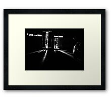 The Night would soon be Filled with Sirens! Framed Print