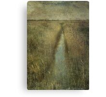 Cley Marshes Canvas Print