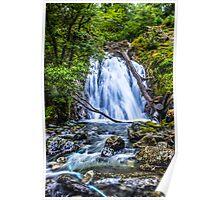 Waterfall At Cadair Idris Poster