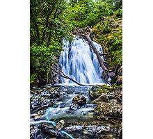 Waterfall At Cadair Idris Photographic Print