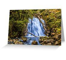 waterfall cadair idris Greeting Card
