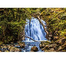 waterfall cadair idris Photographic Print