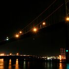 Bridge at Night by Caites