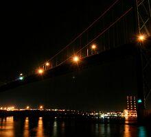 Bridge at Night by Caites