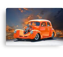 1938 Willys Sedan 3 Canvas Print