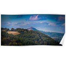 Landscape Wales United Kingdom Poster