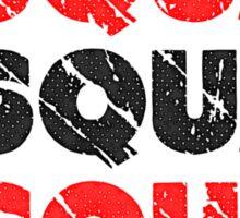 Do It. Squat.Squat.Squat. | Vintage Style Sticker