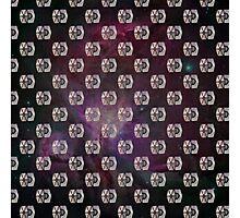 Tie Fighter - Star Wars Inspired Galaxy Pattern Photographic Print