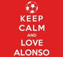 Keep Calm And Love Alonso by Phaedrart
