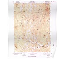 USGS Topo Map  Vermont VT Andover 337290 1971 24000 Poster