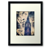 Big City Sky Framed Print
