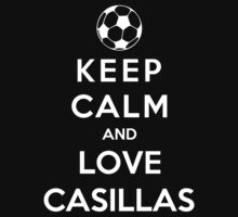 Keep Calm And Love Casillas by Phaedrart
