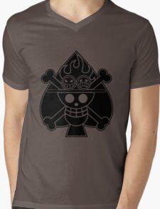 Ace - OP Pirate Flags Mens V-Neck T-Shirt