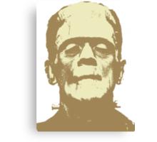 Frankenstein brown Canvas Print
