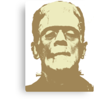 Frankenstein brown Canvas Print