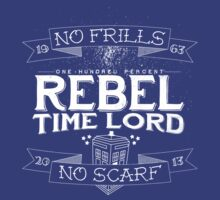 Rebel Time Lord by Jayna Hoffacker