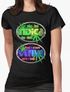 Indica Sativa Marijuana  T-Shirt