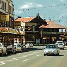Main St, West Wyalong by V1mage